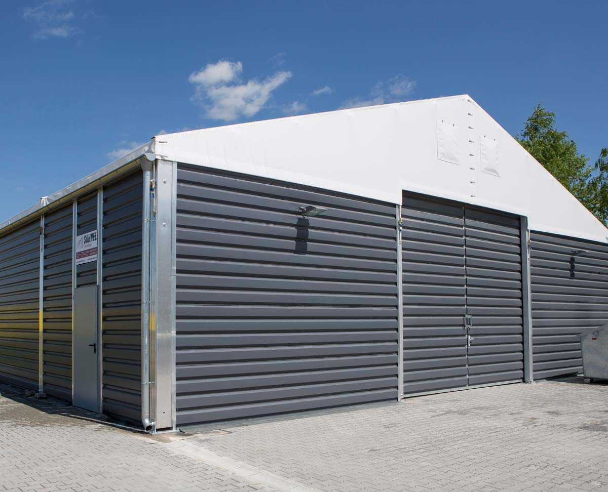 Insulated Temporary Building