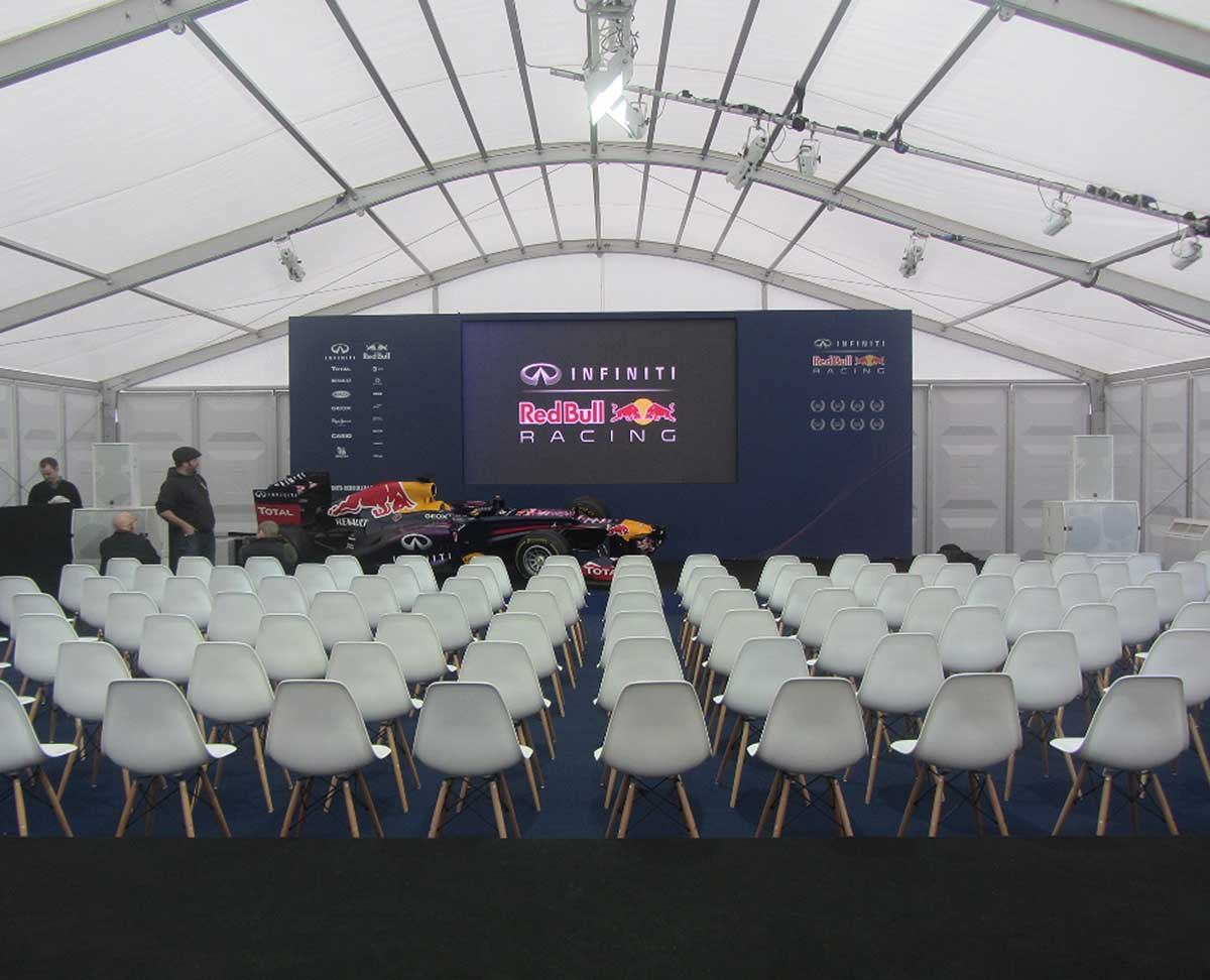 Red Bull Racing Marquee