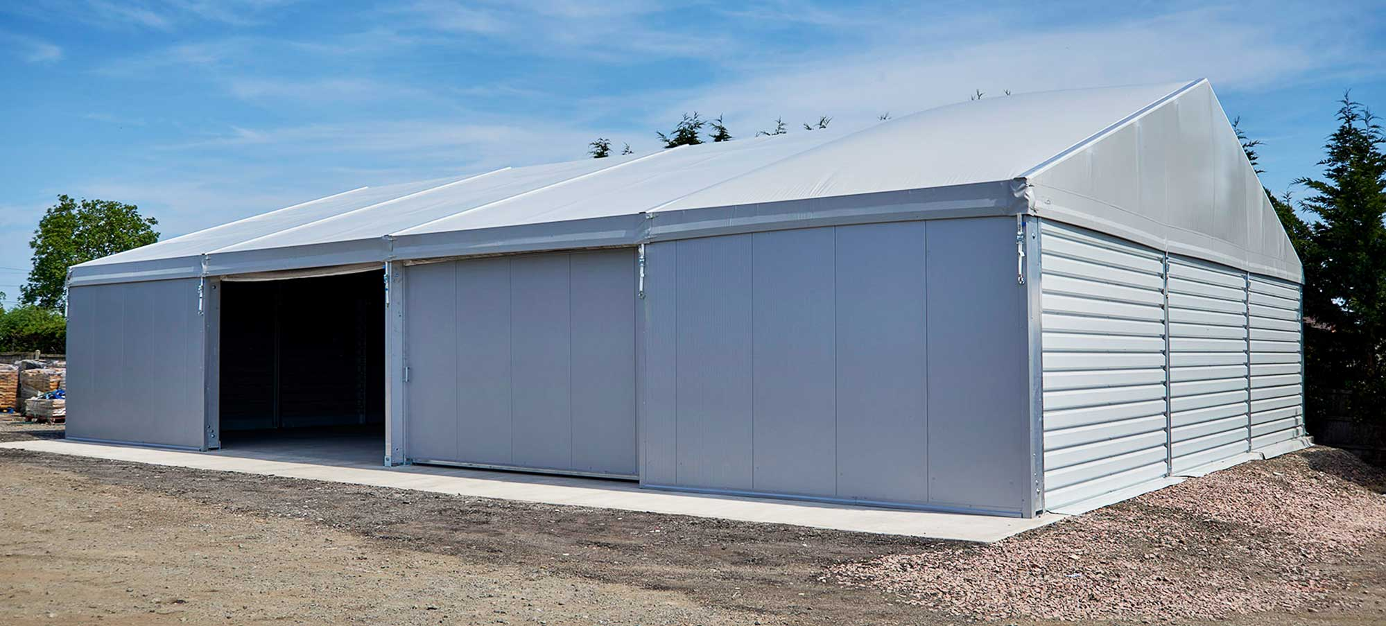 Temporary Building for Storage
