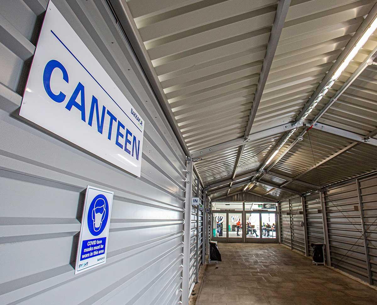 Temporary Canteen