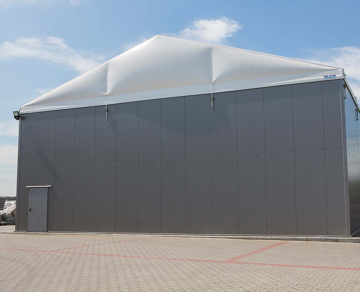 Thermo Roof and Gables Temporary Building