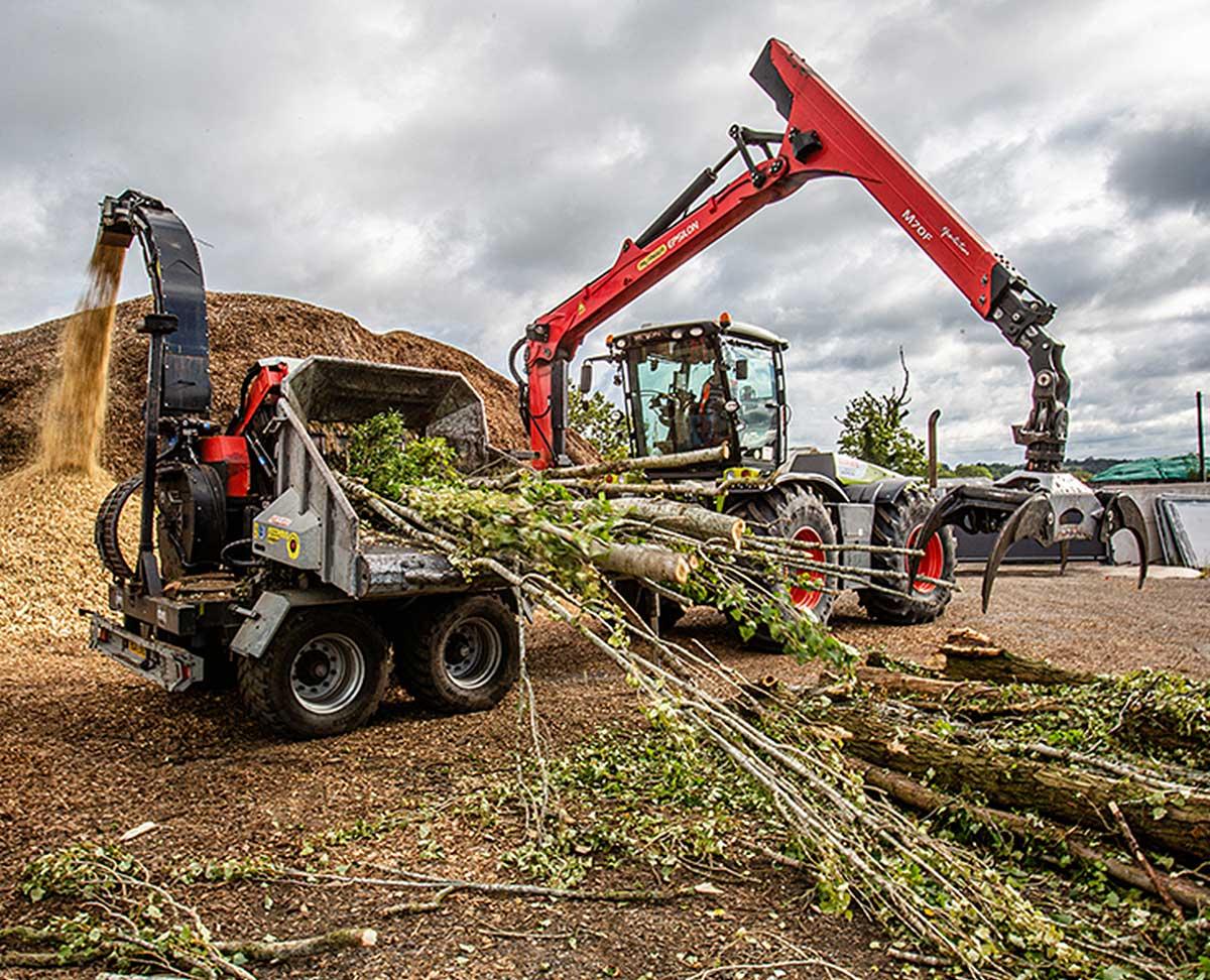 Woodchipping machinery